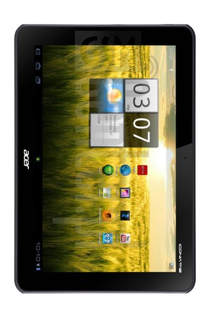 ACER A200 Iconia Tab