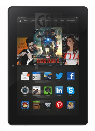 AMAZON Fire HDX 8.9 LTE 2014