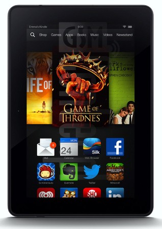AMAZON Kindle Fire HDX 7 WiFi