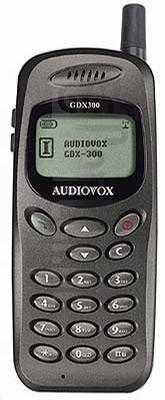 AUDIOVOX GDX-300