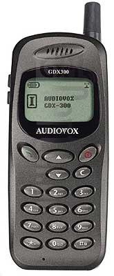 AUDIOVOX GDX300