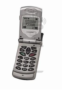 AUDIOVOX PCX 3600 XL
