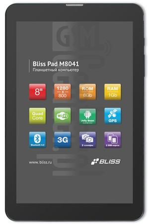 BLISS Pad M8041