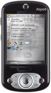 DOPOD 818C (HTC Wave)