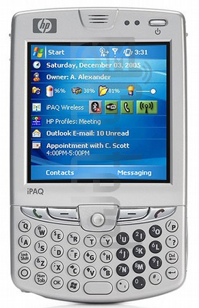 HP iPAQ hw6915 (HTC Sable)