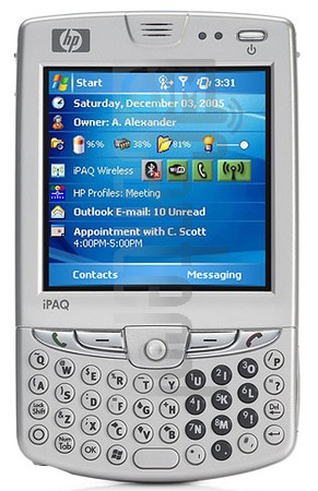 HP iPAQ hw6925 (HTC Sable)