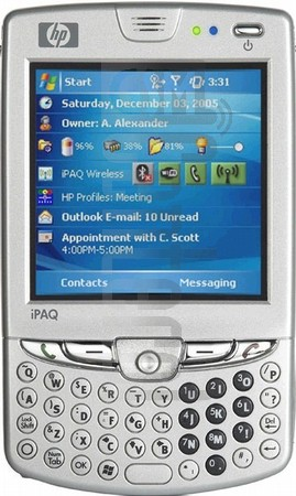 HP iPAQ hw6945 (HTC Sable)