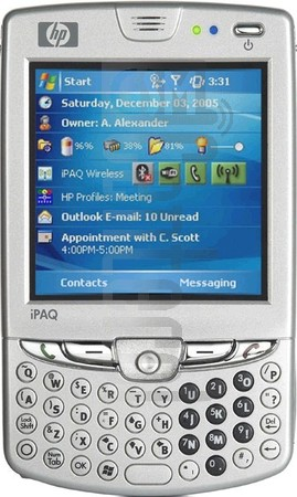 HP iPAQ hw6965 (HTC Sable)