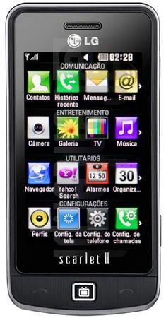 LG GM600 Scarlet II