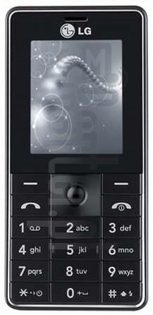 LG MG320 Blackslim