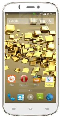 MICROMAX A300 Canvas Gold