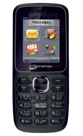 MICROMAX X099
