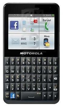 MOTOROLA EX225 Motokey Social