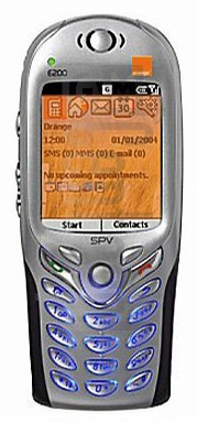 ORANGE SPV E200 (HTC Voyager)