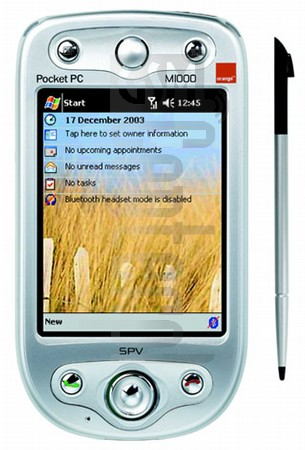 ORANGE SPV M1000 (HTC Himalaya)