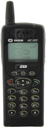 SAGEM MC 922