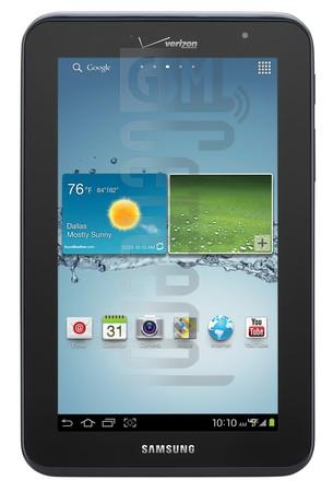 SAMSUNG I705 Galaxy Tab 2 7.0