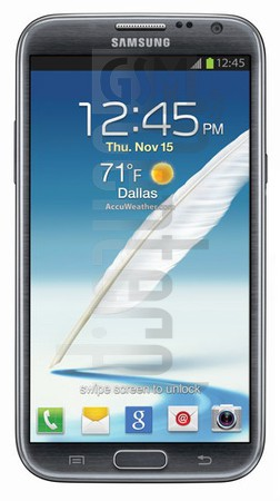 SAMSUNG L900 Galaxy Note II