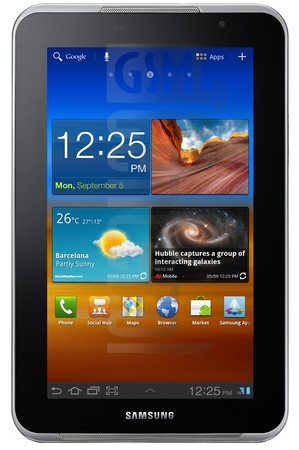 SAMSUNG P6201 Galaxy Tab 7.0 Plus N