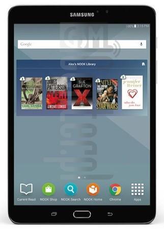 SAMSUNG T710 Galaxy Tab S2 Nook 8.0