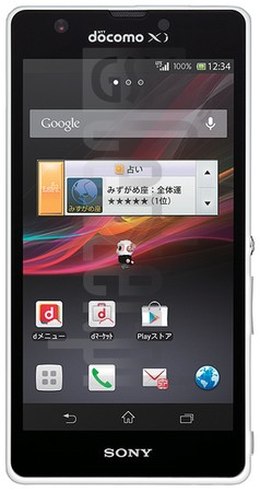 SONY Xperia A SO-04E